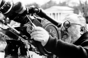 Sergio Leone working on the set of Once Upon a Time in America. Warner Bros./Everett Collection