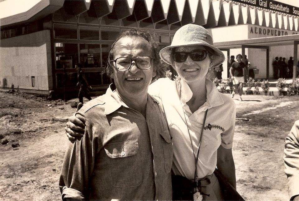 Martha Pinson and Sidney Lumet. Photo By Kerry Hayes