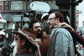 Filming the famous opening scene in Union Square. Still photographer: Brian Hamill