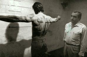 Robert De Niro and Martin Scorsese on the set of Cape Fear. Still photographer: Phillip V. Caruso