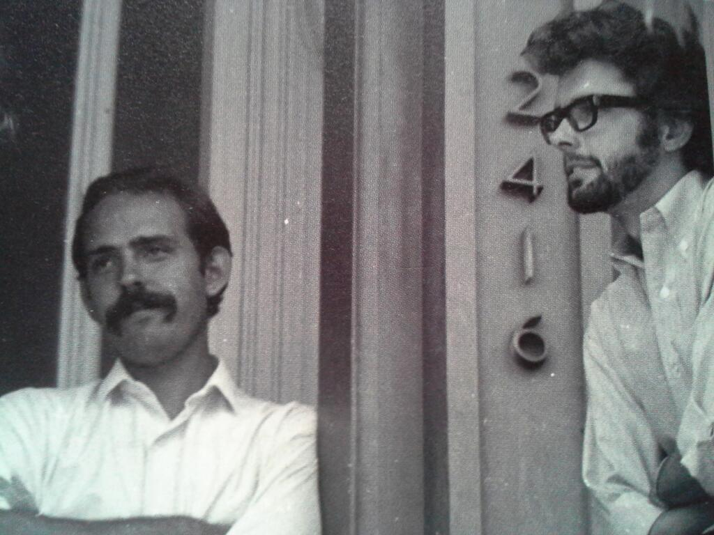 Fellow USC alums Walter Murch and George Lucas