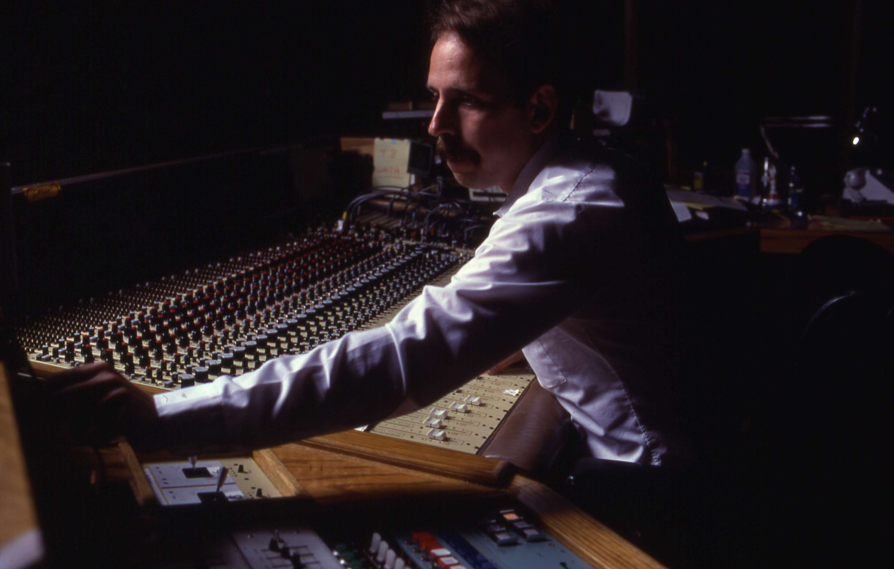 Walter Murch mixing Apocalypse Now in 1979