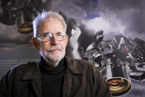 Walter Murch was invited to Bydgoszcz, Poland to receive the festival's Special Award to Editor with Unique Visual Sensitivity. Photo by Wiola Łabędź