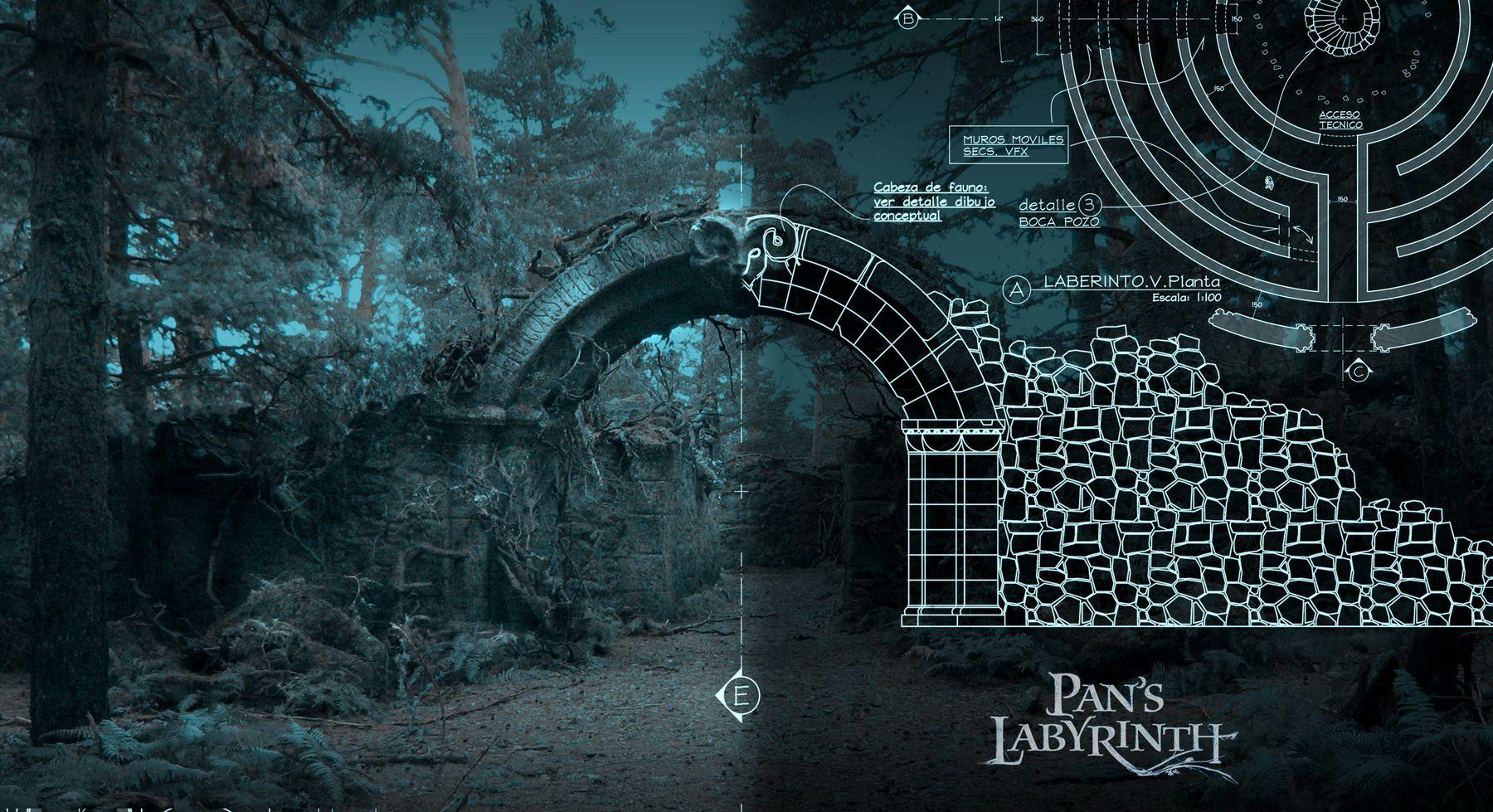 Pans Labyrinth Art Designer