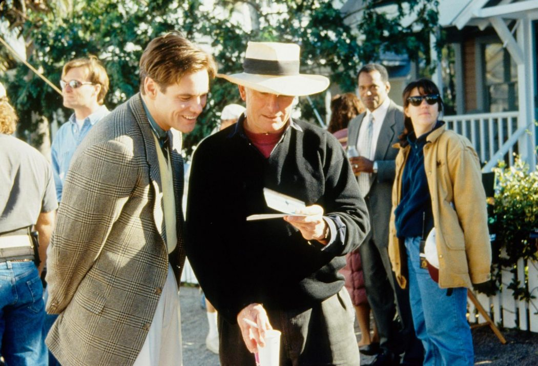 the truman show interview Character analysis of truman show  he is notoriously private and rarely grants interviews kirk burbank truman's father when truman was a boy, his character on .
