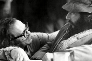 Sidney Lumet with Al Pacino on the set of Serpico. Photograph: Everett Collection/Rex Features © Artists Entertainment Complex, Produzioni De Laurentiis International Manufacturing Company, Paramount Pictures
