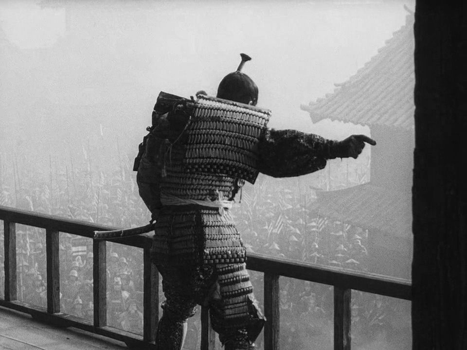 Image result for throne of blood colorized
