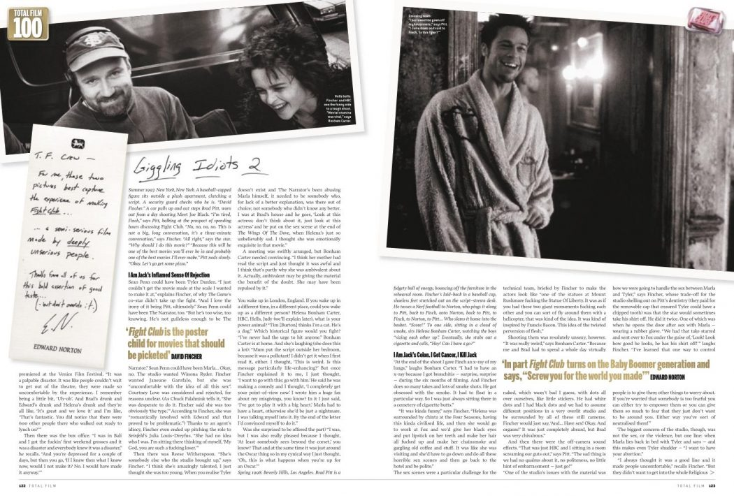 fight club psychology essay Fight club - analysis essays psychology essay paper a textual analysis of personality disorders as depicted in the film fight club fight club: analysis of.