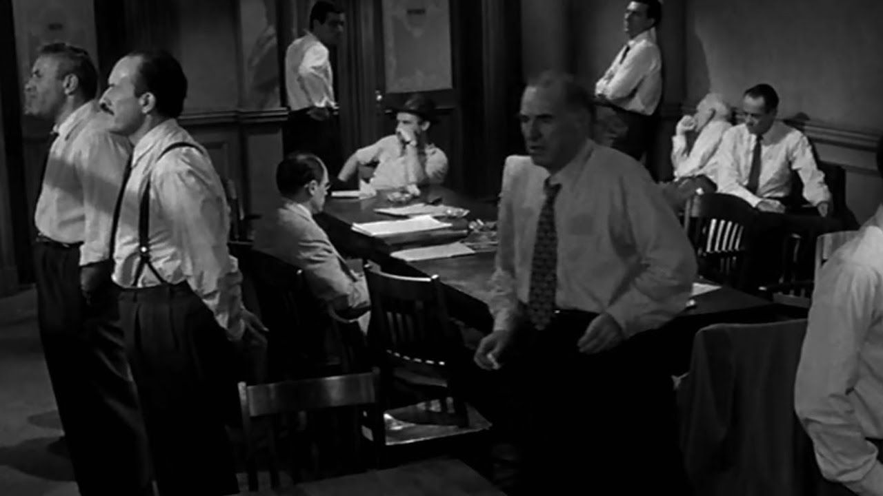 film techniques in 12 angry men When he was tapped to direct 12 angry men—his first feature film—he naturally wanted to follow as many of his usual habits and techniques as when he was 12.