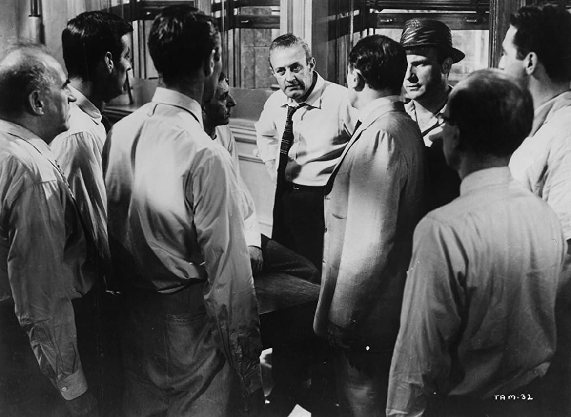 twelve angry men rose uses the 4 a note from the director, rich keitel twelve angry men is generally acknowledged to be one of the greatest courtroom dramas of all time reginald rose (the.