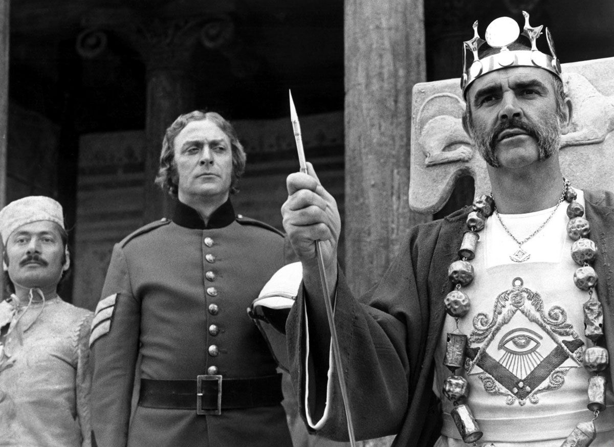 Empire's End: John Huston's 'The Man Who Would Be King'